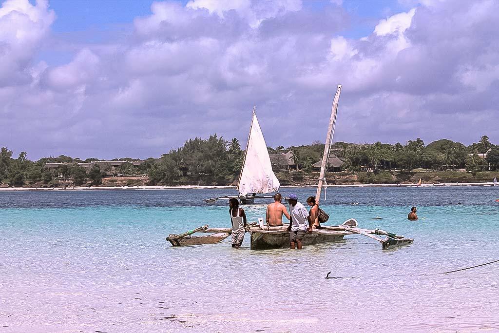 Fischerboot - Villa-Kuishi - Diani Beach - Kenia - Ihr exklusives Ferienhaus unter der Sonne Ostafrikas