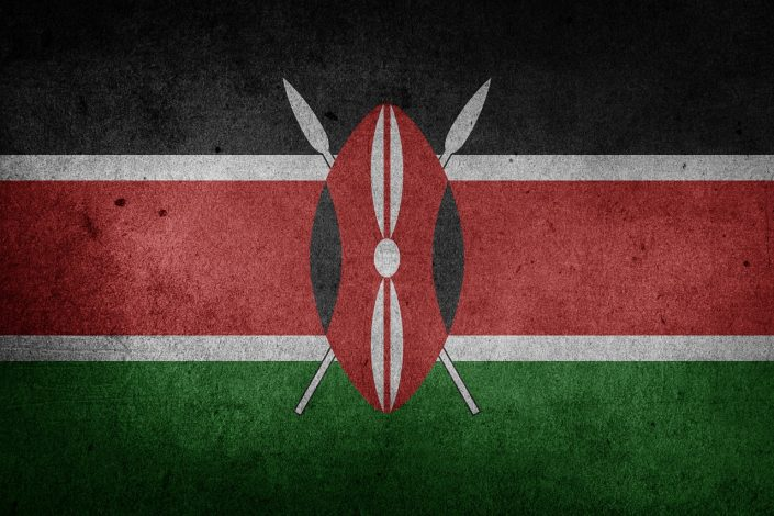 Flagge Kenia - Villa-Kuishi - Diani Beach - Kenia - Ihr exklusives Ferienhaus unter der Sonne Ostafrikas