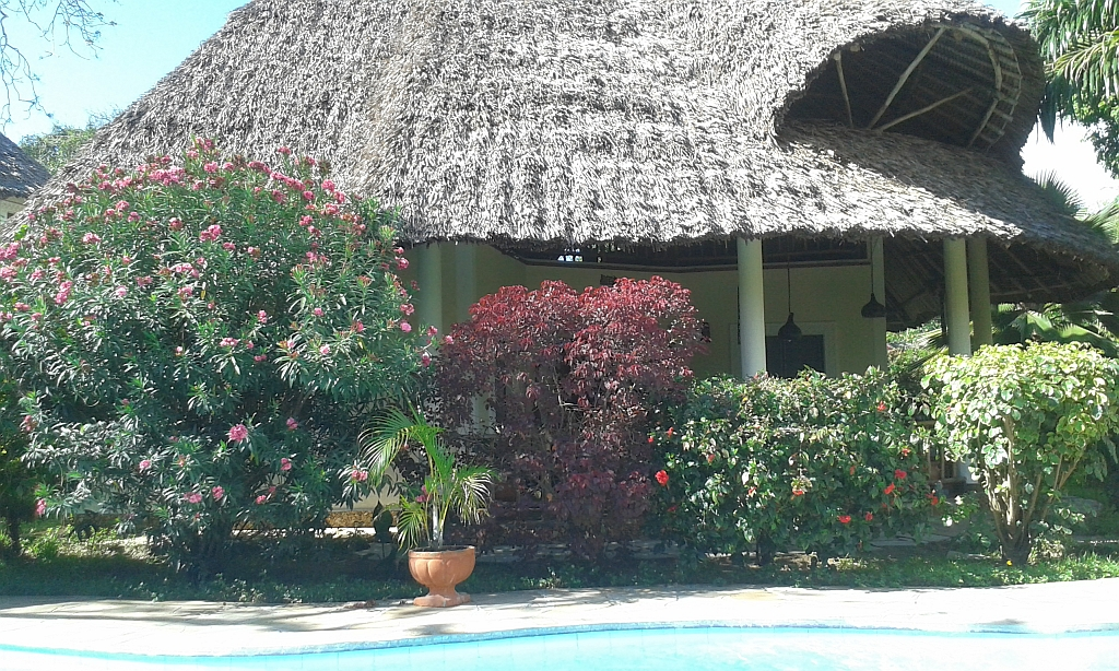 Hausansicht - Villa-Kuishi - Diani Beach - Kenia - Ihr exklusives Ferienhaus unter der Sonne Ostafrikas